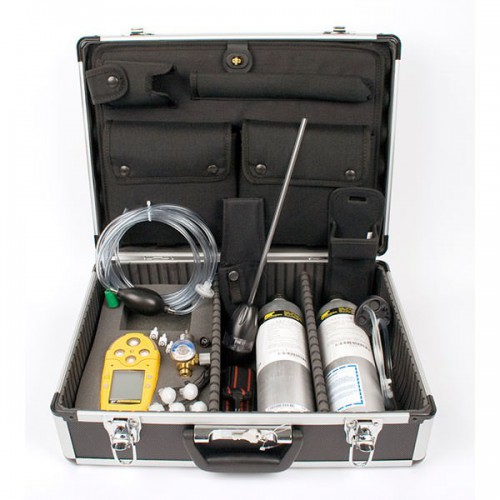Gas Monitor: GasAlertMicro 5 Confined Space Kit (Including 34 litre Calibration Gas)