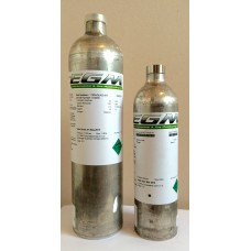 Gas Monitor Calibration Gas - 100 ppm Iso-Butylene in Air - 58 litre cylinder